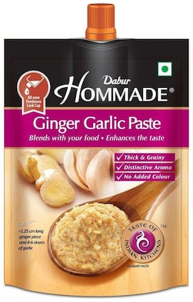 Dabur Hommade - Ginger Garlic Paste 200 gm