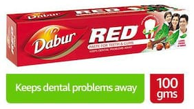 Dabur Red Ayurvedic Toothpaste 100 g