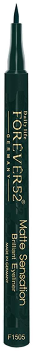 Daily Life Forever52 Matte Sensation Brilliant Eyeliner Green 1 ml ( Pack of 1 )