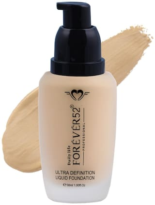 Daily Life Forever52 Water Liquid Long Lasting Full Coverage Foundation 30 ml Pack of 1