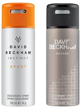 David Beckham Instinct Sport & Beyond  Deo Combo Set - Pack of 2