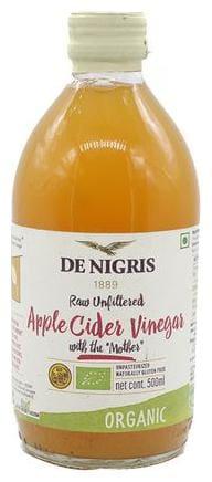 De Nigris Organic - Vinegar  Apple Cider 500 ml