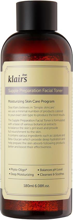 Dear Klairs Supple Preparation Facial Toner - 180 ml