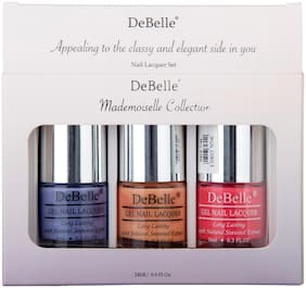 Debelle Nail Lacquer Set Mademoiselle Combo Pack of 3