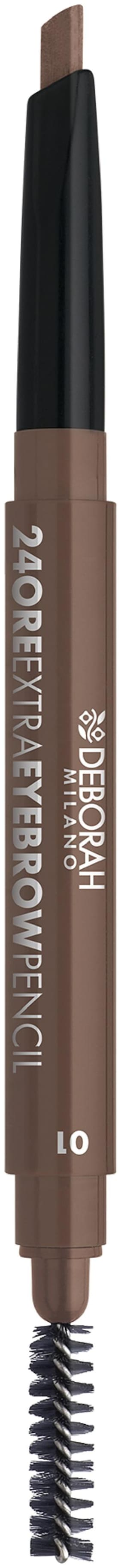 Deborah Milano 24ORE EXTRA Eyebrow Pencil 01 - Brown 0.22g