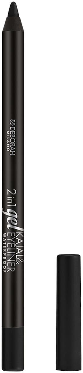 Deborah Milano 2-IN-1 GEL Kajal & Eyeliner - 1 BLACK