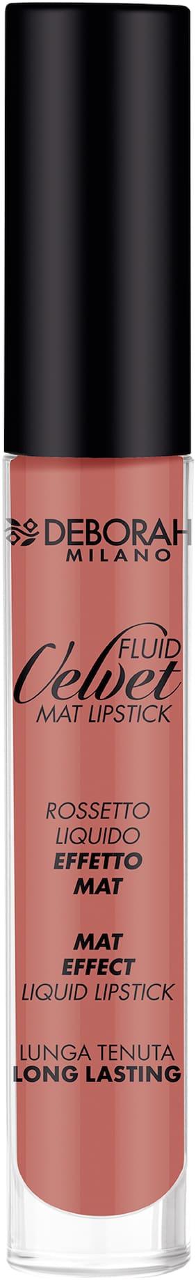 Deborah Milano FLUID VELVET MAT Lipstick - 1 ANTIQUE ROSE