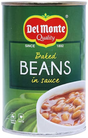 Del Monte Baked Beans in Sauce 450 g (Pack of 1)