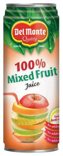 Del Monte Drink - Four Seasons Mixed Fruit  100% 240 ml