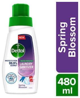 Dettol After Wash Liquid Laundry Sanitizer - Spring Blossom 480 ml
