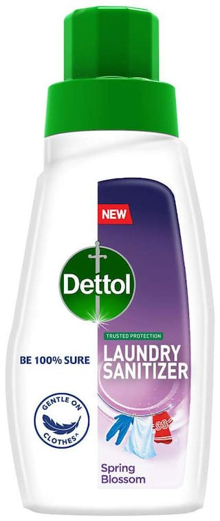 Dettol After Detergent Wash Liquid Laundry Sanitizer-Spring Blossom - 480ml
