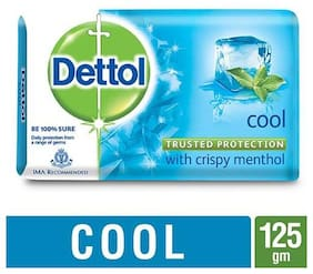 Dettol Bathing Bar Soap - Germ Protection  Cool 125 gm
