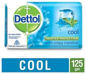 Dettol Bathing Bar Soap - Germ Protection  Cool 125 g