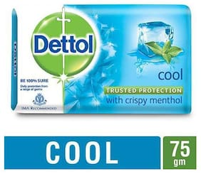 Dettol Bathing Bar Soap - Germ Protection  Cool 75 g
