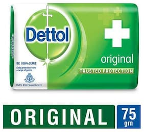 Dettol Bathing Bar Soap - Germ Protection  Original 75 gm