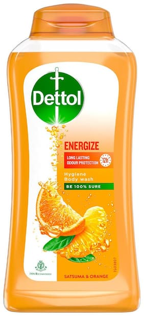 Dettol Body Wash and shower gel;Energize - 250ml