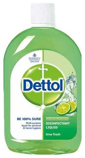 Dettol Disinfectant Liquid - Lime Fresh 200 ml
