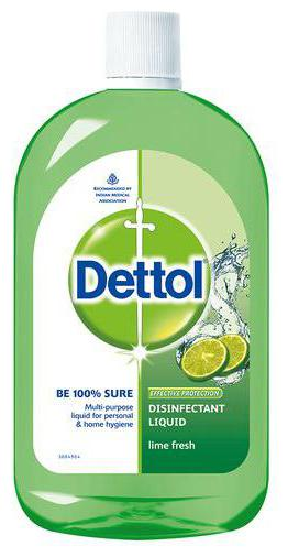 Dettol Disinfectant Multi purpose Liquid   Lime Fresh 1 L