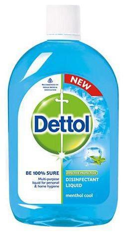 Dettol Disinfectant Hygiene Liquid - Multi-Use, Menthol Cool 200 ml