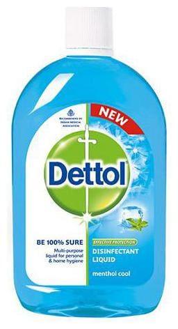 Dettol Disinfectant Hygiene Liquid - Multi-Use, Menthol Cool 500  ml