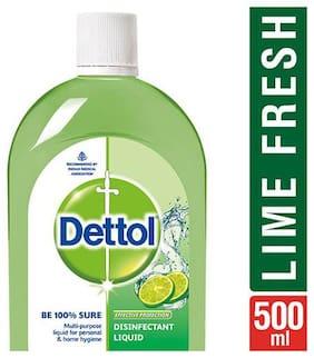 Dettol Disinfectant Hygiene Liquid - Multi-Use, Lime Fresh 500 ml