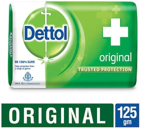 Dettol Germ Protection Bathing Bar Soap  Original - 125g