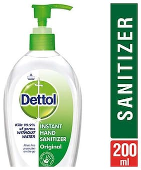 Dettol Hand Sanitizer - Germ Protection  Original 200 ml