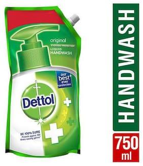 Dettol Liquid Handwash - Germ Protection  Original  Pouch 750 ml