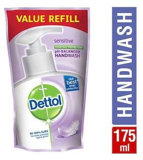 Dettol Liquid Handwash - Ph Balanced  Germ Protection  Pouch  Sensitive 175 ml