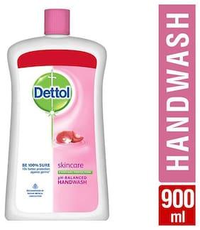 Dettol Liquid Handwash - Ph Balanced  Germ Protection  Skincare  Refill Jar 900 ml