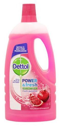 Dettol Power & Fresh, Cherry & Pomegranate Floor Cleaner 1 ltr