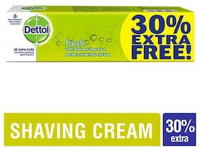 Dettol Shaving Cream - Germ Protection  Fresh 78 g