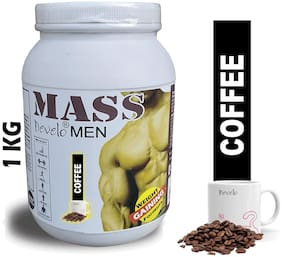 Develo Mass Gainer Formulated For Men 1kg Coffee