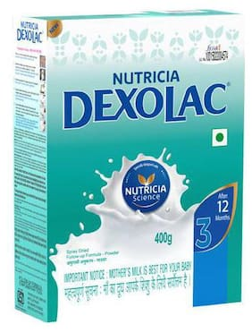 Dexolac Infant Formula - Powder Stage 3 BIB 400 g