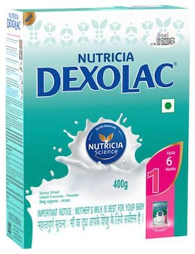 Dexolac Infant Formula - Powder  Stage 1  BIB 400 g