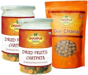 Dhampur Green Mix Fruit Chatpata & Gur Chana Combo
