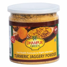 Dhampure Speciality Turmeric Jaggery Powder 300g (Pack of 1)