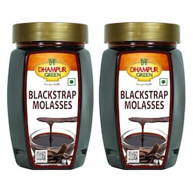 Dhampure Speciality Blackstrap Molasses 500g Each Pack Of 2