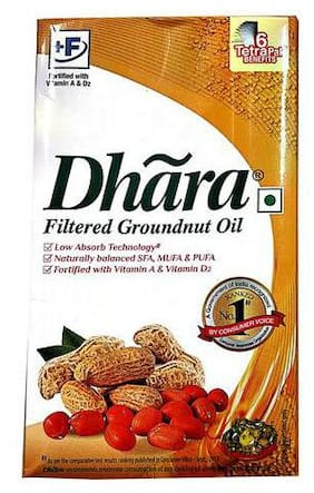 Dhara  Groundnut Oil 1 L