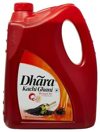 Dhara Oil - Mustard (Kachi Ghani) 5 L