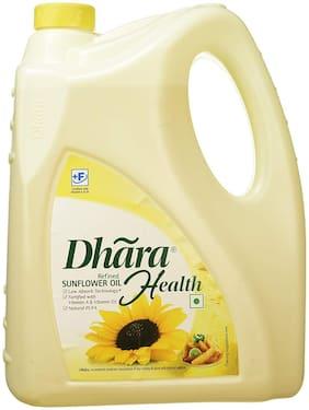 Dhara  Refined - Sunflower Oil 5 L