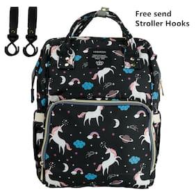 Diaper Bag Backpack Capacity Unicorn Baby Travel Backpack Free Get Stroller Hook