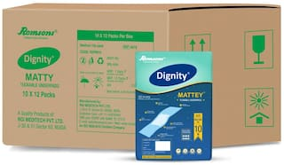 Dignity Mattey Tuckable Underpads 60 cm X180 cm Pack of 12