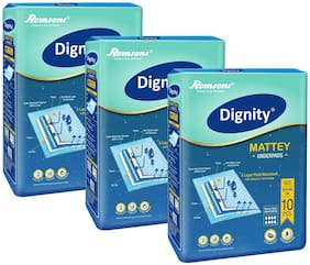 Dignity Mattey Underpads Size 60*90 cm 10 pcs Pack of 3