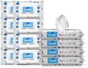 Dignity Poochie 100% Biodegradable Baby Wipes (150 x 200 mm) 80 Wipes (Pack of 12)