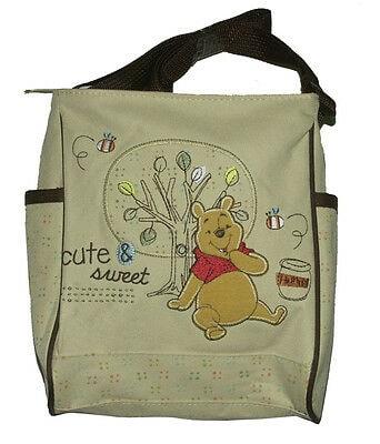 Disney Mini Diaper Bag Winnie The Pooh Pink,Blue,Brown Newborn Baby New With Tag