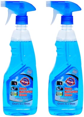 Doc Him Glass & Multi-Surface Cleaner 500ml (Pack of 2)