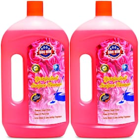 Doc Him Rose Disinfectant Surface Cleaner 1 L ( Pack of 2 )