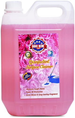 Doc Him Rose Disinfectant Surface Cleaner 5 L