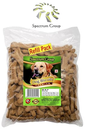 Dog Biscuits 800g (Refill Pack) FSSAI, ISO9001:2015 & HACCP approved Company.